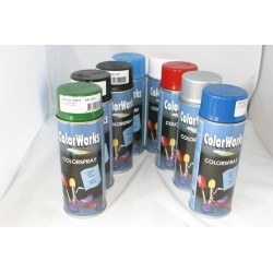 Spraylakk sort blank 400ml