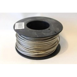 Wire 5mm SF316 50m spole, 7x19