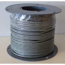 Wire PVC belagt 3-4MM, 100M spole