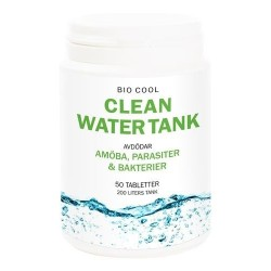 Bicool Clean Water Tank rensemiddel for vanntank, 50 stk tabletter